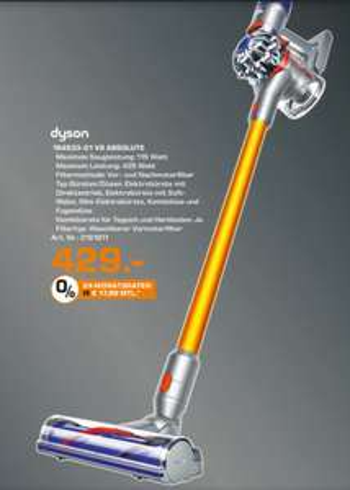 (Lokal Saturn Bochum) Dyson V8 absolute