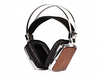 Dockin S09 Ascona Over-Ear Kopfhörer im Retro-Design, Walnuss-Optik für 27,98€