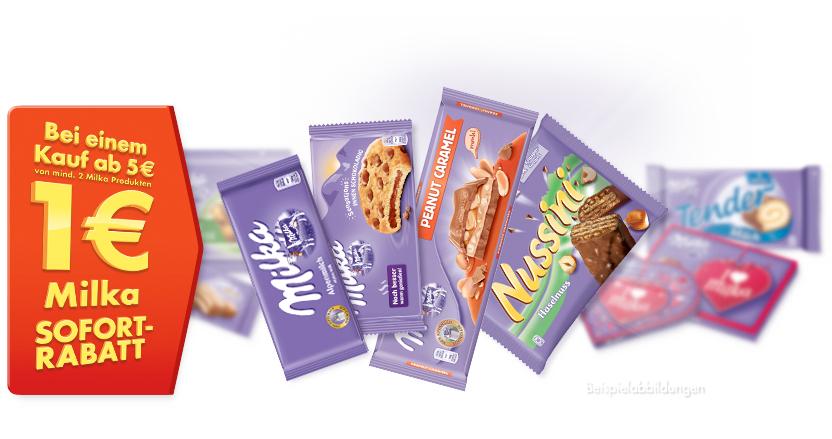 [Kaufland] Milka Schokolade Angebot + Coupon = 8 Tafeln für 4,28€