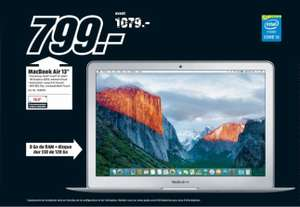 "[mediamarkt.ch] Apple MacBook Air 13.3"" - Core i5-5250U, 8GB RAM, 128 GB SSD für 744€ Offline # Black Friday"