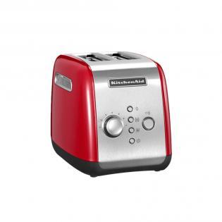 KitchenAid 5KMT221EER Empire Rot (Toaster, 2 Scheiben, 1100 Watt, 7 Stufen) für 89,99 EUR inkl. Versand