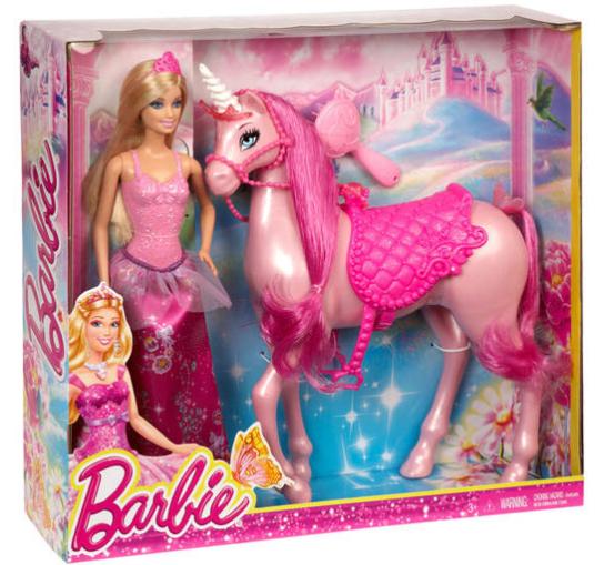 20% Rabatt auf Fisher Price + Barbie bei [GALERIA Kaufhof] z.B. Barbie mit Einhorn für 15,99€ bei Abholung statt ca. 32€