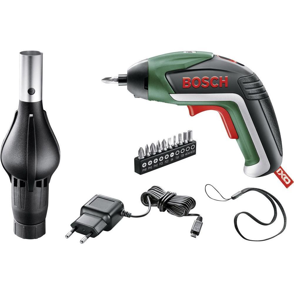 Bosch IXO V BBQ Akkuschrauber (inkl. Bitset, Ladegerät, Grillgebläseaufsatz, Koffer) für 29€ [Amazon] @bf2016