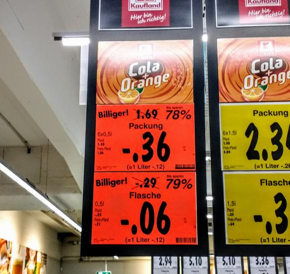 K-Classic: Cola+Orange / Cola [Lokal?: Kaufland - Eichhorsterweg (Berlin Wittenau)]