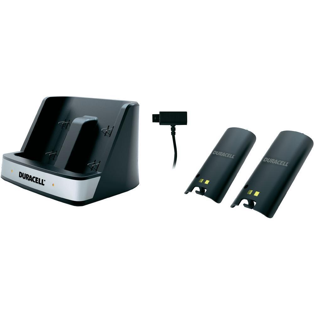 (Conrad.de) Duracell Ladestation für 2 Wii Remote Controller schwarz inkl. zwei Akku Packs