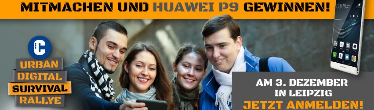 Digitale Schnitzeljagd mit Geschenken und Gewinnen in Leipzig