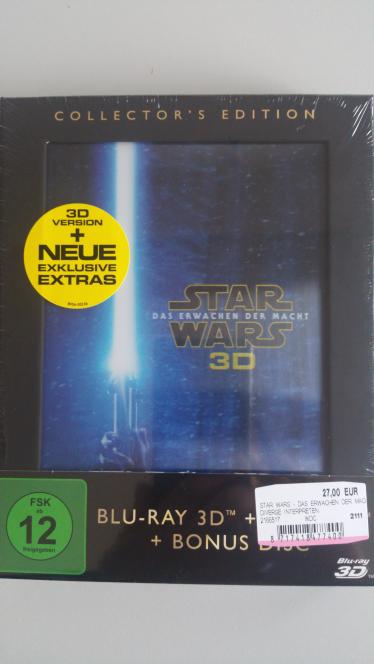 Lokal MM Berlin Tempelhofer Hafen Star Wars 7 3D Collectors Edition