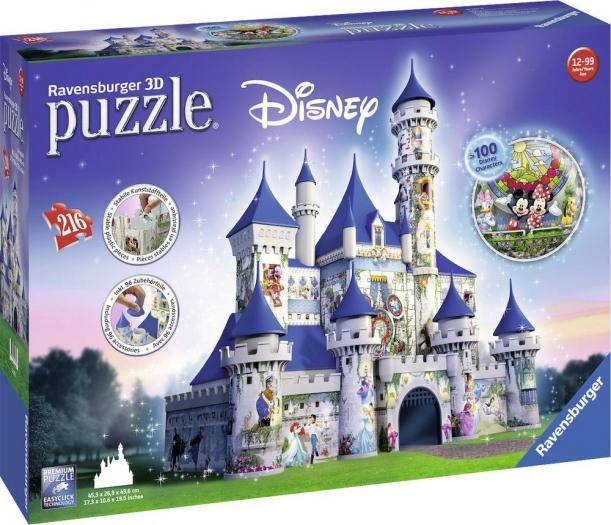 Ravensburger 3D Puzzle Disney Schloss für 37,99€ versandkostenfrei bei [voelkner]