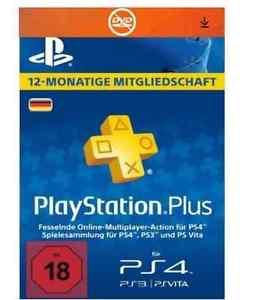 Playstation+ 365 Tage / 1 Jahr