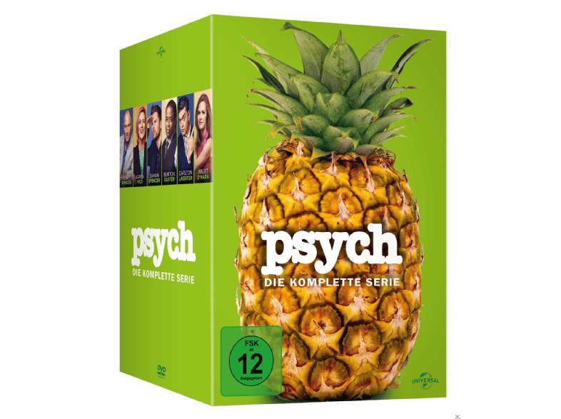 Psych - Die komplette Serie auf DVD für 39€@BF2016 bei Saturn