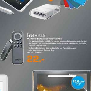 [Lokal Saturn Ludwigsburg] Amazon FireTV Stick 22€