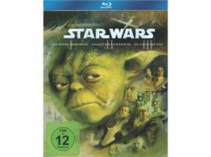 Star Wars: Episode 1-3 und 4-6 (Bluray) für je 28€ [Saturn + Amazon]