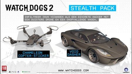 Stealth Paket DLC für Watch Dogs 2 (PS4/Xbox One/PC)