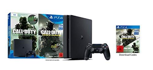 3x PlayStation 4 Bundle für 299€ - 329€ (1TB, schwarz,slim) Infinite Warfare Legacy Edition,  Uncharted 4, PES 2017, 2 DualShock 4, [Amazon Cyber Monday Woche] & Otto.de
