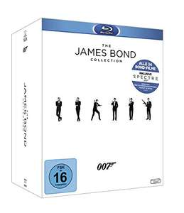 (Amazon) James Bond - Collection 2016 [Blu-ray] für 72,00 Euro; [DVD] Collection für 64,97 Euro