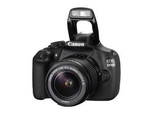 [amazon.es] Canon EOS 1200D DSLR-Kamera mit F-S 18-55 mm f/3.5 IS II Objektiv