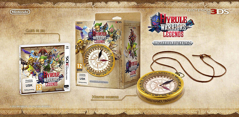 Hyrule Warriors: Legends - Limited Edition - [3DS] für 24,97€ statt 29,99€ / WHD sehr gut für 18,72€ [Amazon Cyber Monday Woche]
