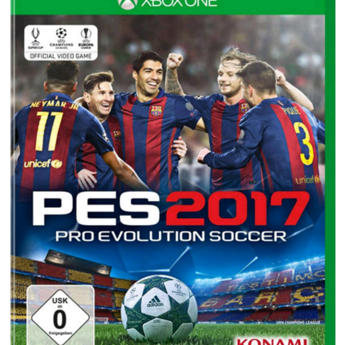 XBOX ONE Spiel - PES 2017 VERSAND KOSTENLOS * bei Real- NUR 35€