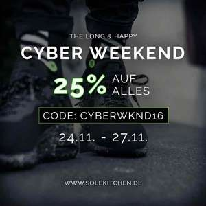 Solekitchen SALE + Cyber Weekend = fast 50% Rabatt!