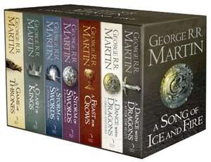 [Amazon.co.uk] A Game of Thrones: The Story Continues. 7 Volumes Boxed Set (A Song of Ice and Fire)