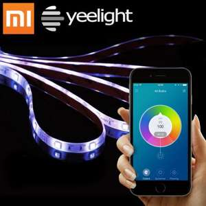 [gearbest] Original Xiaomi Yeelight Smart Light Strip  -  RGB COLOR für 26,26€ inkl. Versand statt 40€ + 4-6% Cashback über shoop