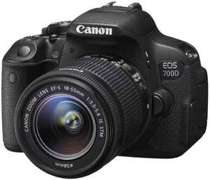Canon EOS 700D Kit 18-55mm IS STM + 25€ Media Markt Geschenkkarte