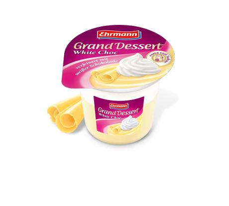 [Kaufland bundesweit] Ehrmann Grand Dessert White Choc Angebot+Scondoo 0,07€/Stück