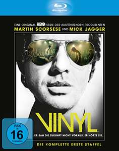 Vinyl - Die komplette 1. Staffel (Serie) inkl. Bonus Disc und Art Cards (exklusiv bei Amazon.de) [Blu-ray] [Limited Edition] für 14,97€ @Amazon.de