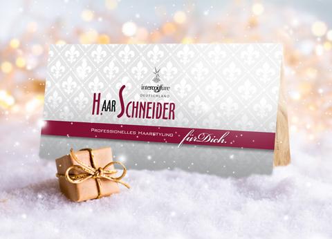 Gutscheine mit Preisvorteil - nur im Dezember! Sparen beim Friseur-Besuch.