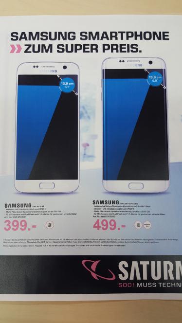 Cyber Monday Saturn Deutschland Samsung S7 & S7 EDGE