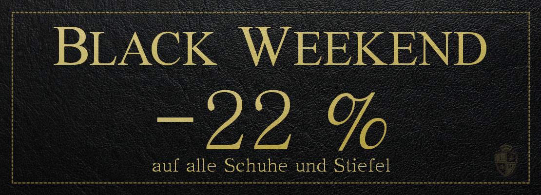 [Black Weekend] 22% auf alle Schuhe und Stiefel bei Langer & Messmer
