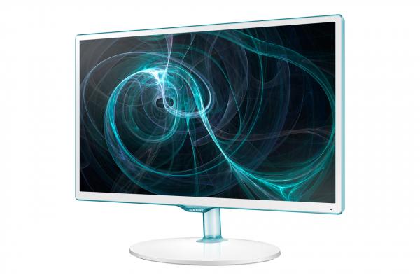 "Samsung TV Monitor T24D391EW LED-Display 59,9 cm (24"") TV-Tuner (DVC-T/C) weiß (LT24D391EW/EN) [-15% unter idealo]"