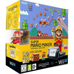 Nintendo Wii U Super Mario Maker Premium Pack Limited Edition für 233,10€ bei eBay