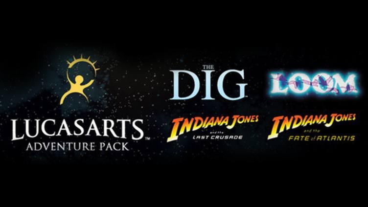[steam] LucasArts Adventure Pack: Indiana Jones 3+4, Loom und The Dig für 1.59€ @ bundlestars