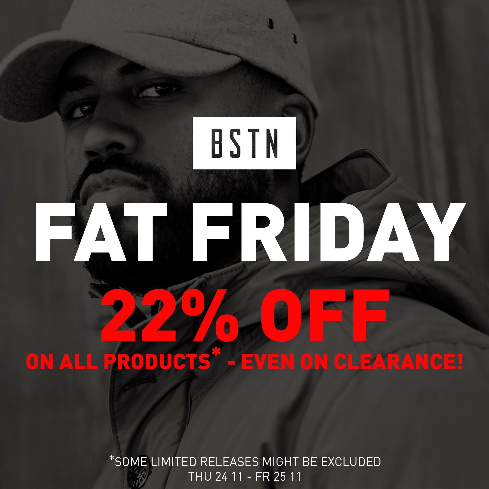 Fat Friday - 22% auf alles @ bstnstore.com - Air Max Zero