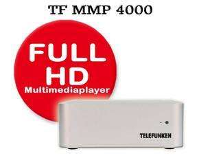 Telefunken MMP 4000-SE FULL HD Multimediaplayer, wahlweise mit oder ohne 500GB Festplatte. Ohne: für 59,95€