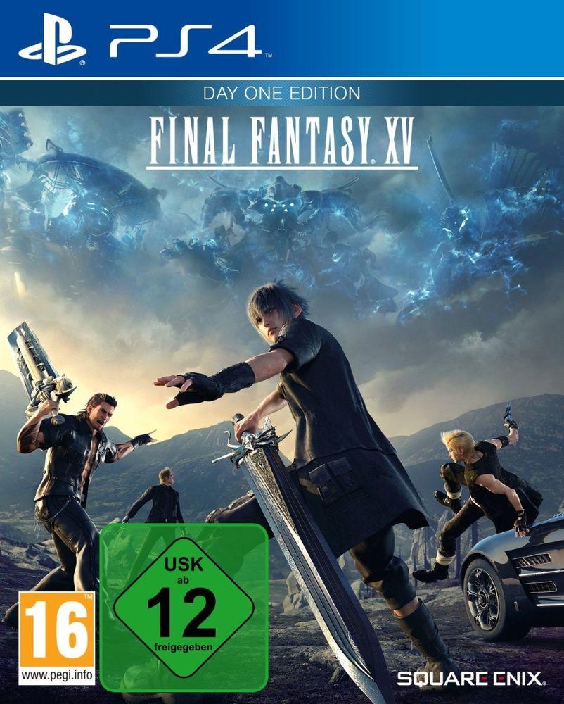 [Ebay] Final Fantasy 15 PS4 mit ebay-Gutschein