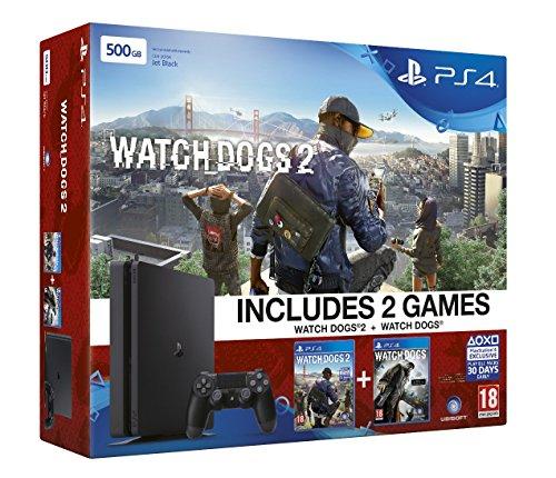 Sony PlayStation 4 Slim 500GB Watchdogs 2 + Watch Dogs 1 für 240,59€ bei Amazon.co.uk