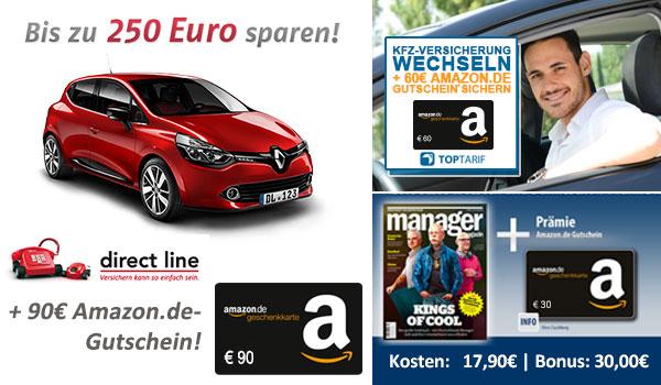 90€ Amazon Gutschein für KfZ-Tarifwechsel [bonusdeal24.de] #blackfriday