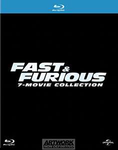 Blu-ray Box - Fast & Furious 1-7 Film Collection (7 Discs) für €22,38 [@Amazon.it]