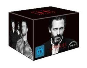 [Saturn@BF2016] Dr. House - Die komplette Serie, Season 1-8 (46 Discs) für 36,80€ Versandkostenfrei