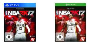 [Expert Technomarkt@BF2016] NBA 2K17 (PlayStation 4 und Xbox One) für je 18,99€ **Offline für 15,-€ in den Technikmarkt Filialen**