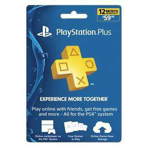 US Account Playstation Plus 12 Monate