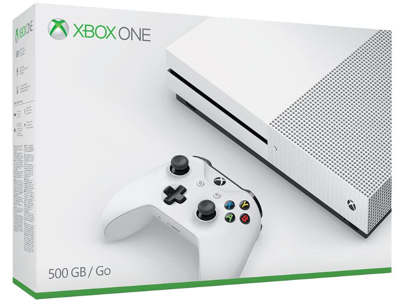 MICROSOFT Xbox One S 500GB 164€ nach Direktabzug