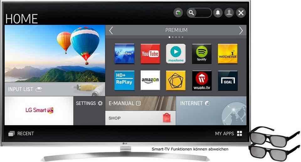 [otto.de] LG 60UH8509 LED 60 Zoll 4K 3D TV - Black Friday