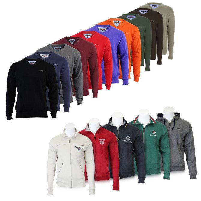 Pierre Cardin V-Neck & 1/4-Zip Pullover für je 14,99€ @ebay
