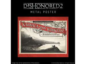 [Mediamarkt] Dishonored 2 - PC - Jewel of the South Pack (Metal Plate und DLC)