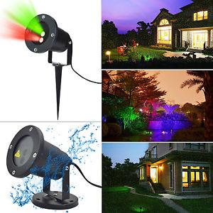 Outdoor Laser Landschaftsprojektor bei Ebay für 20,99€