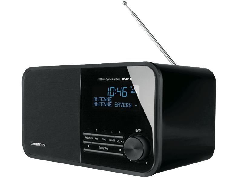 GRUNDIG TR 2500, DAB+ Radio Schwarz oder Pastelblau --> 99,- € inkl. Versand