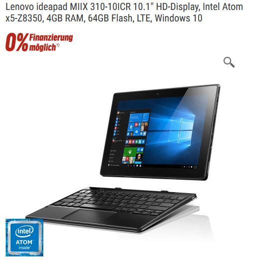 nbb - Lenovo IdeaPad Miix 310 4GB/64GB LTE